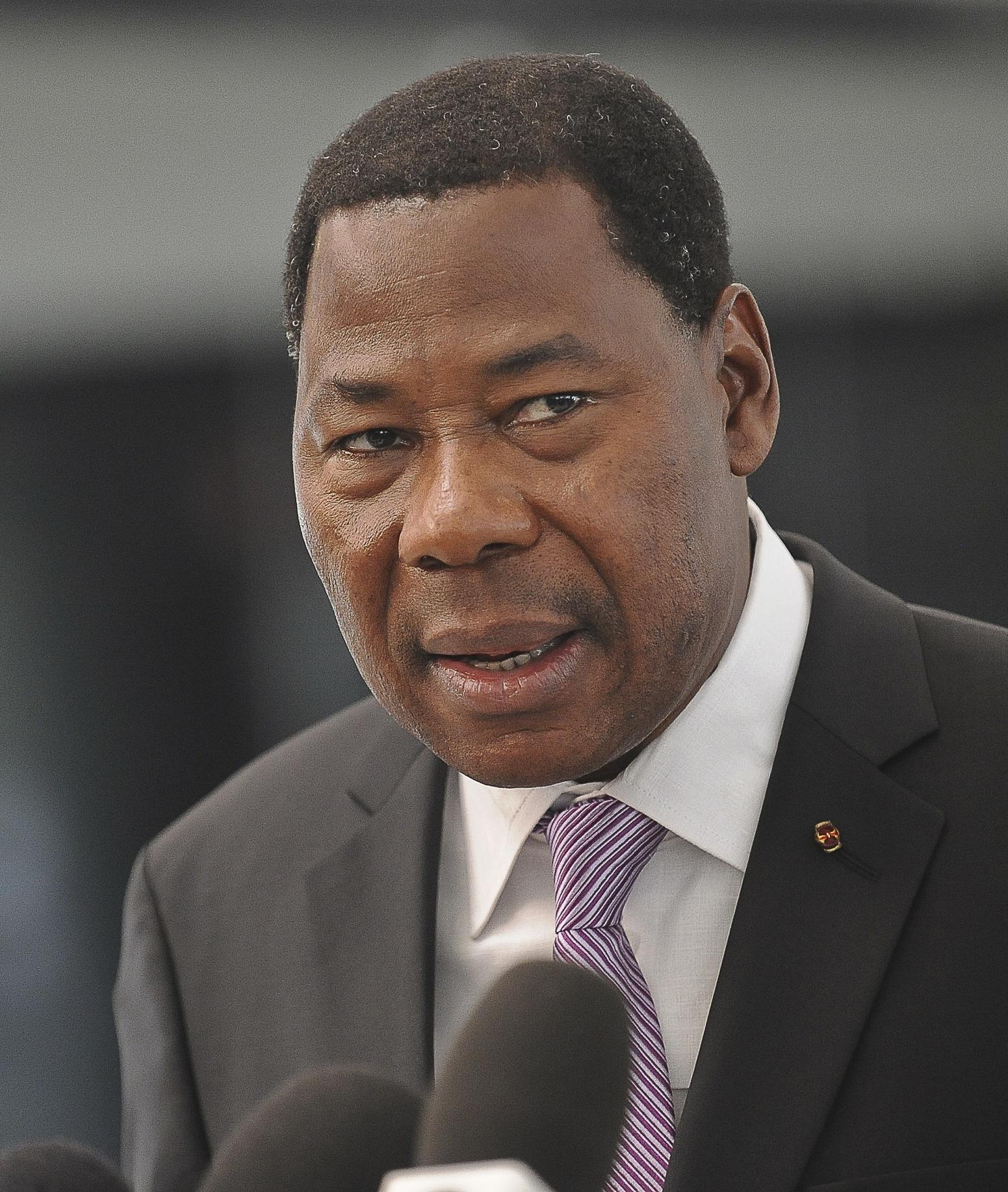 Le Président de la République Boni Yayi