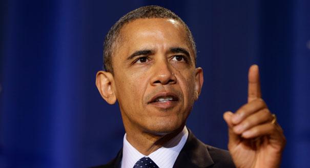 Président américain Barack Obama, nous voulons la destruction sans condition des armes de destruction massive. C'est là, la réelle sécurité nucléaire.